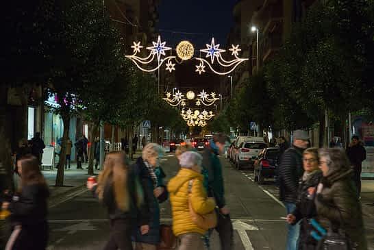 iluminación navideña estella