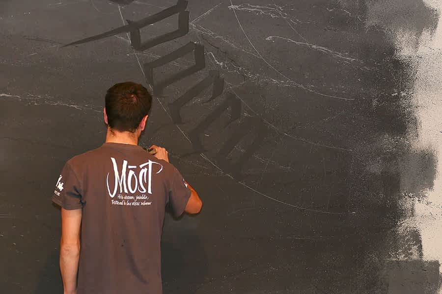 'Multiprisma': los grafitis se apoderan del museo