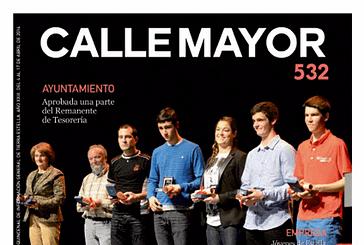 CALLE MAYOR 532 - ESTELLA HIZO GALA DE SU DEPORTE