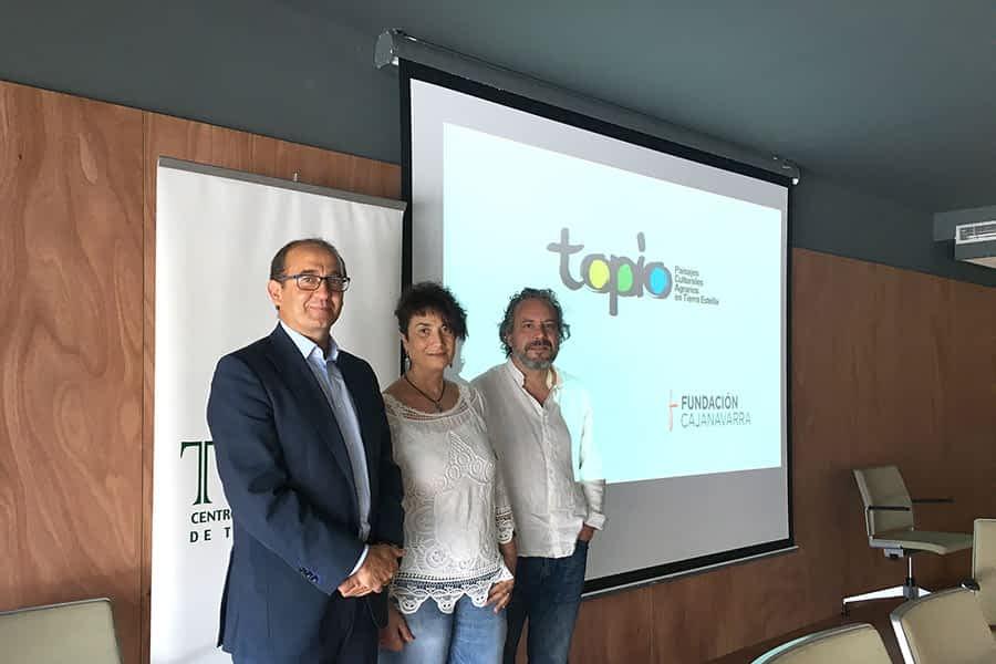 Teder promociona el paisaje cultural de Tierra Estella