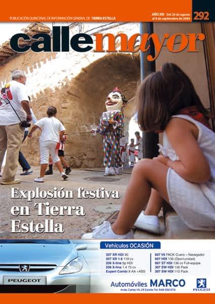CALLE MAYOR 292 – EXPLOSIÓN FESTIVA EN TIERRA ESTELLA