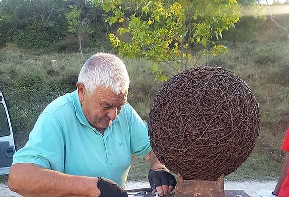 Arte de alambre en tiempos de confinamiento