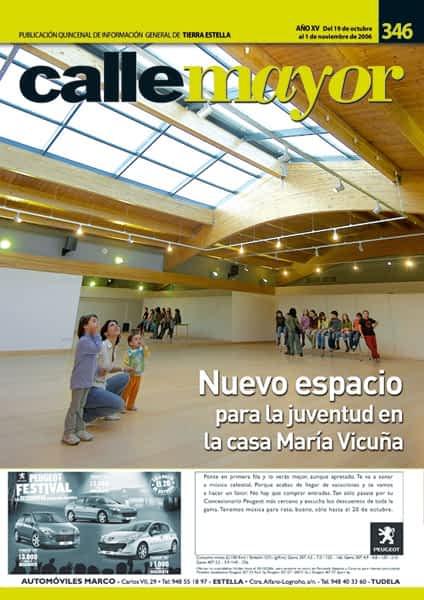 CALLE MAYOR 346 – NUEVO ESPACIO PARA LA JUVENTUD EN LA CASA MARÍA VICUÑA