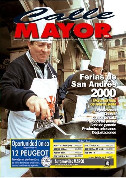 CALLE MAYOR 203 – FERIAS DE SAN ANDRÉS 2000
