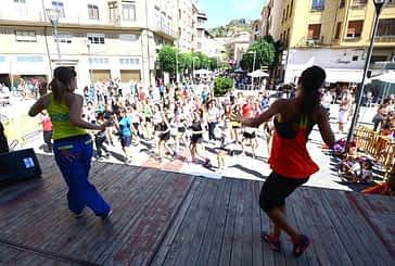 El deporte triunfó en las calles