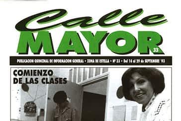 CALLE MAYOR 033 - COMIENZO DE LAS CLASES