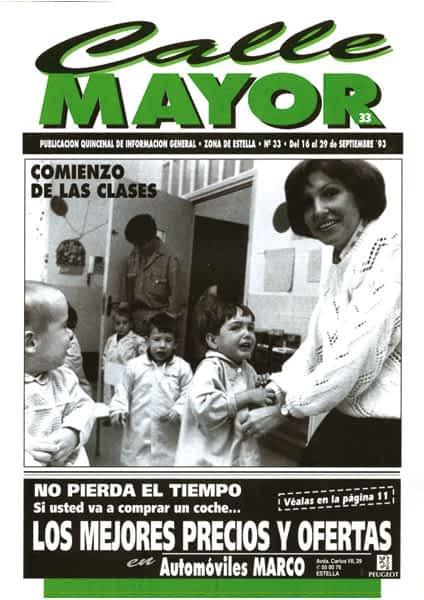 CALLE MAYOR 033 – COMIENZO DE LAS CLASES