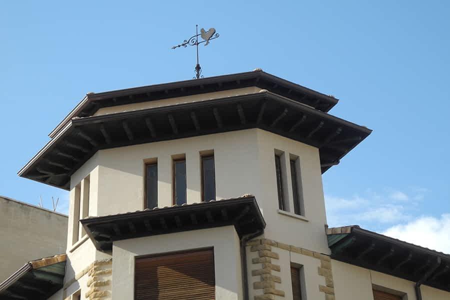 Oficina de CaixaBank de la calle San Andrés en Estella-Lizarra