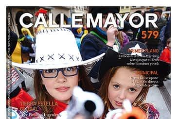 CALLE MAYOR 579 - EL CARNAVAL DISPARÓ EL COLOR Y LA FIESTA EN ESTELLA
