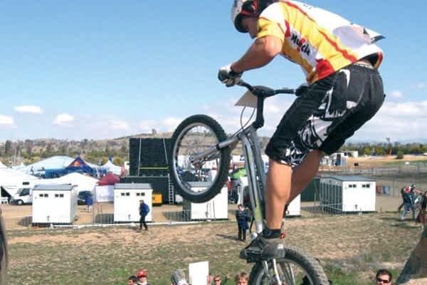 Disputado el Campeonato Navarro de Trial Bici en Ayegui