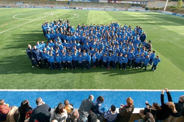 Veinte equipos y 319 jugadores componen la base albiazul
