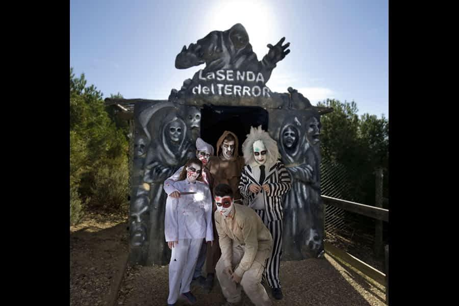 El Halloween más terrorífico, en Sendaviva