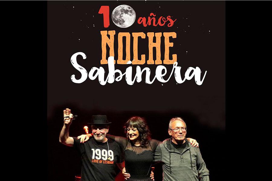 Noche Sabinera en los cines Los Llanos el sábado 19 de marzo