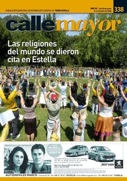 CALLE MAYOR 338 – LAS RELIGIONES DEL MUNDO SE DIERON CITA EN ESTELLA