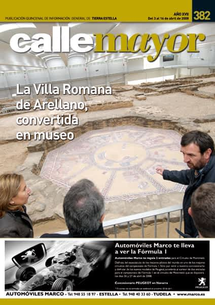 CALLE MAYOR 382 – LA VILLA ROMANA DE ARELLANO, CONVERTIDA EN MUSEO
