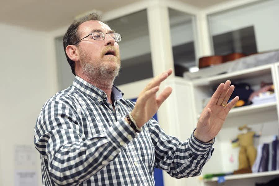 Ramón Ayerra - profesor de la Txaranguika
