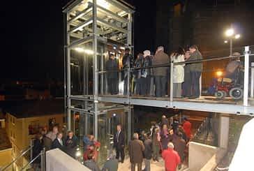 Entra en servicio el ascensor del Barrio de San Pedro