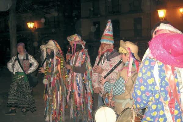 El Carnaval rural revivió la fiesta más tradicional