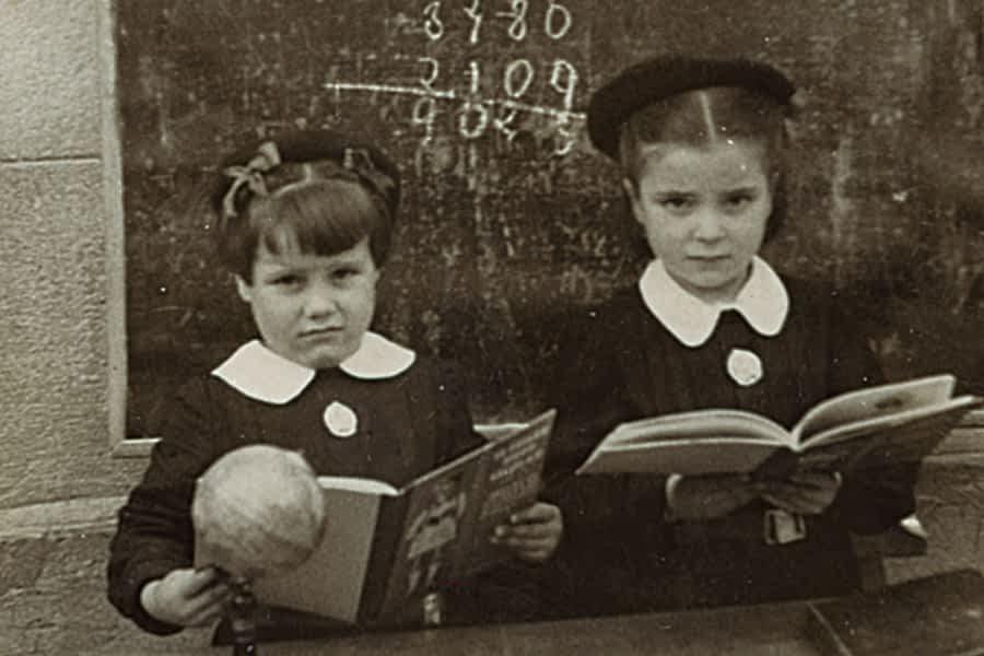 Los 100 años del colegio Santa Ana en imágenes