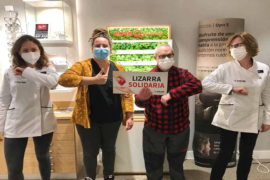 Una campaña solidaria de Óptica Lizarra apoyará los proyectos de Anfas Estella y del centro Oncineda