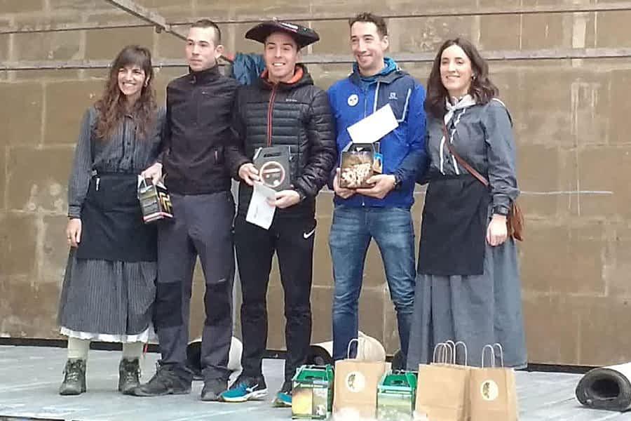 Álvaro Ramos y Amaia Ruiz se alzaron con el Arriero de Eulate