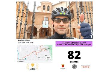 La carrera virtual recaudó más de 916 euros para la lucha contra la crisis del Covid-19