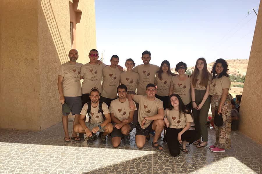 De Estella a Marruecos, sin fronteras