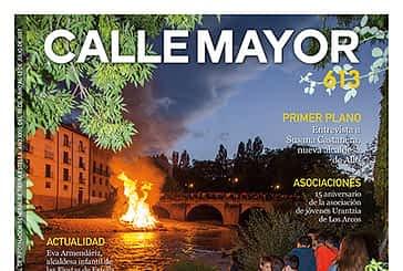 CALLE MAYOR 613 - LA LUZ DE LA HOGUERA ILUMINÓ LAS FIESTAS DE SAN PEDRO