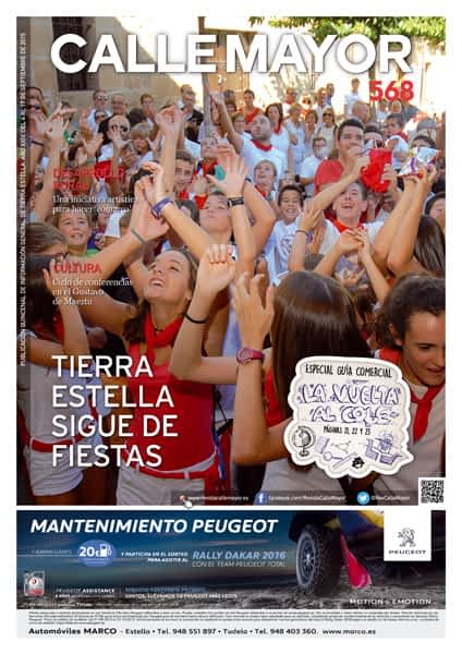 CALLE MAYOR 568 – TIERRA ESTELLA SIGUE DE FIESTAS