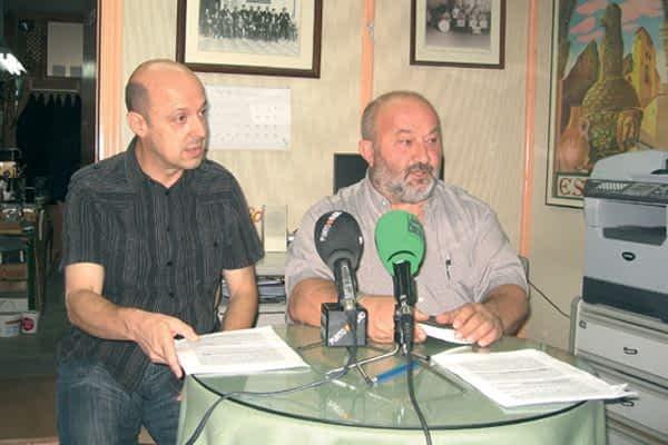 Los gaiteros Martínez y Doñabeitia piden 'trabajar en paz'