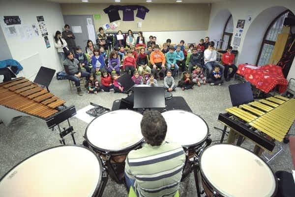 La música animó la agenda cultural de Estella