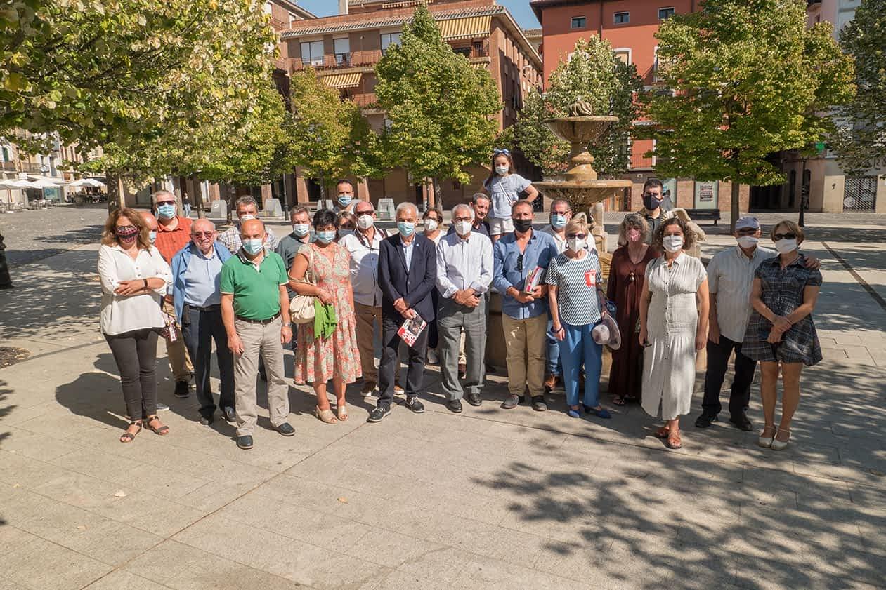 Estella recibió a la Liga de Asociaciones de Periodistas del Camino de Santiago