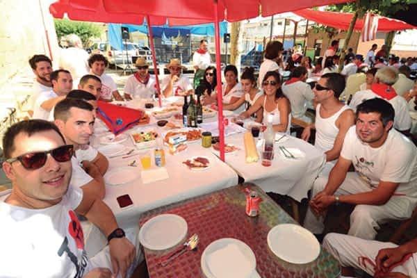 Un septiembre caluroso acompañó durante las fiestas de Arróniz