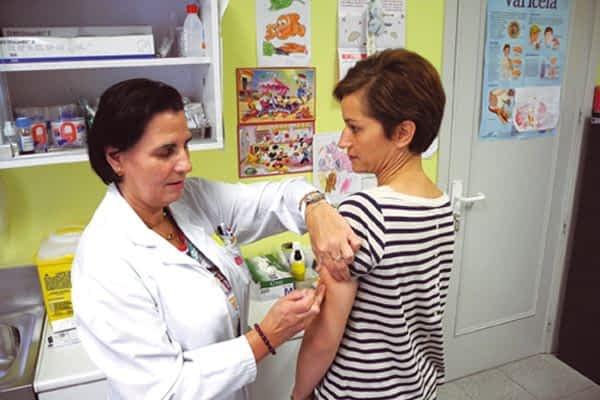 Comienza la vacunación contra la gripe