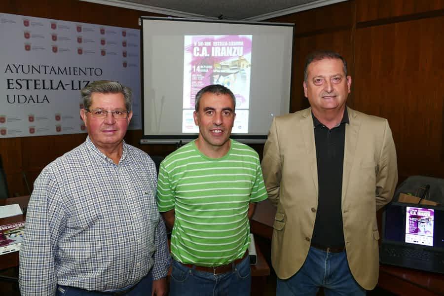 El C.A. Iranzu celebra la 5k-10k Estella-Lizarra el 14 de octubre