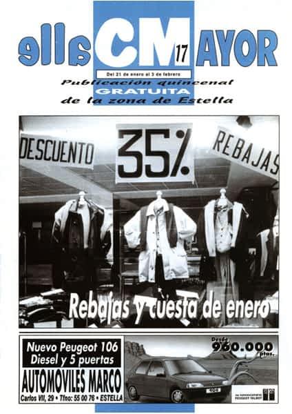 CALLE MAYOR 017 – REBAJAS Y CUESTA DE ENERO