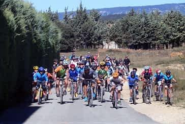 El Día de la Vía Verde reunió a cerca de 600 personas en Ancín