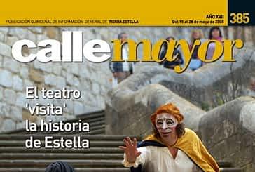 CALLE MAYOR 385 - EL TEATRO ´VISITA´ LA HISTORIA DE ESTELLA