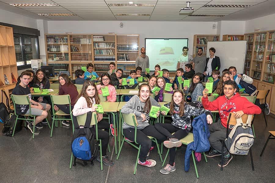 Diez centros escolares se unen a la experiencia de los ecobocadillos