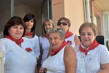La asociación de mujeres lanzó el cohete de las fiestas de Abárzuza