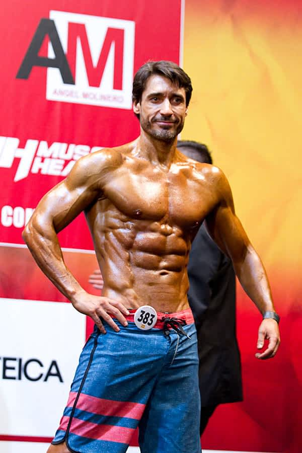 Raúl López, 4º en la Copa Nacional de España de Culturismo y Fitness