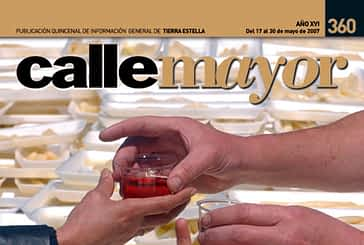 CALLE MAYOR 360 - DICASTILLO BRINDÓ POR EL ESPÁRRAGO DE NAVARRA