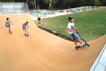Ampliado el parque de skate con una segunda pista