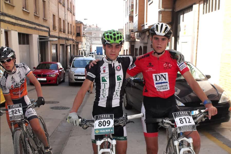 El cadete David Oteiza es líder en el Open Diario de Navarra