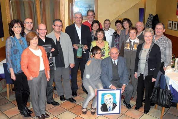 El club Oncineda recibió el Premio Estellés del Año