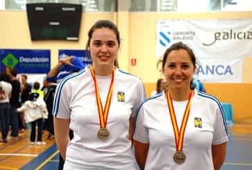 Nelly Iriberri y Patricia Pérez, plata en el Campeonato de España Absoluto de Bádminton