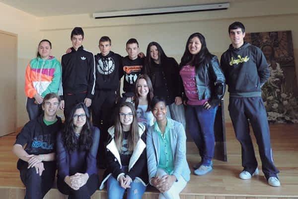 Alumnos del colegio El Puy participan en el programa LaborESO