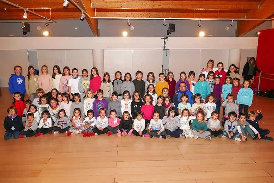 ASOCIACIONES – Grupo de danzas Larraiza – 50 años del grupo txiki