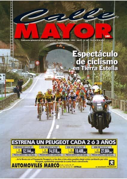 CALLE MAYOR 188 – ESPECTÁCULO DE CICLISMO EN TIERRA ESTELLA