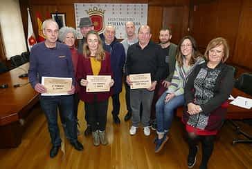 Premiados los escaparates de Almu, carnicería Aguinaga y Electrodomésticos Cenor Ramón Andueza